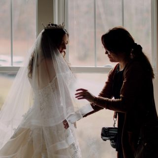 Sometimes behind the scenes is just as beautiful as the special moments that happen on the wedding day. ❤️ #atlantaweddingvideographer #georgiaweddingvideographer  #atlantaweddingfilms #atlantaweddingvideos #romanticweddingvideo #atlantaweddingvenue #foxhallwedding #atlantaweddingphotographers #atlantaweddingphotography
